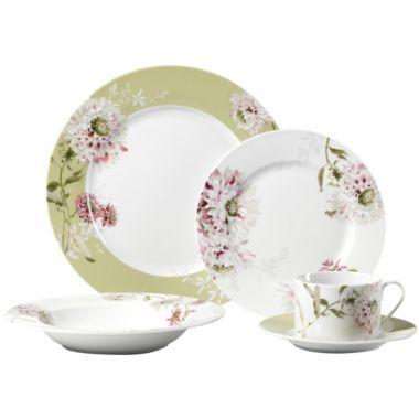 Mikasa Silk Floral Porcelain dinnerware