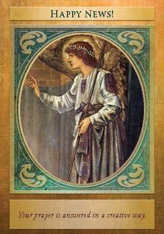 Oracle Card Happy News   Doreen Virtue   official Angel Therapy Web site