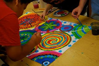 Kansas Art Education Association: Creating Community with Circle Painting