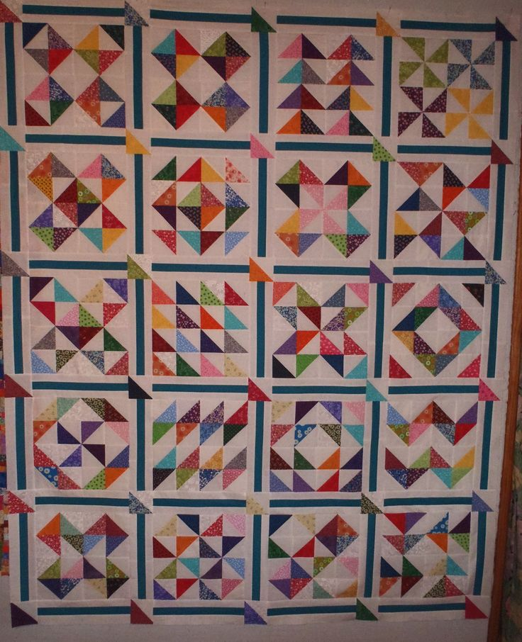 HST sampler... very nice idea! Finally found the HST quilt I want to make with the HST's im saving from other projects ♡♥♡♥♡