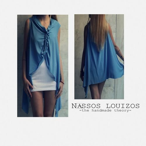 NASSOS LOUIZOS - RIPPED TUNIC