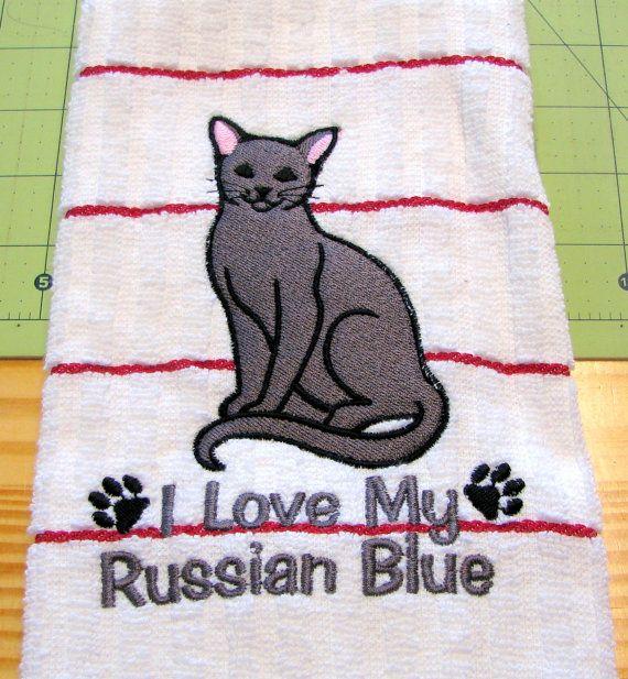 Customizable Love My Russian Blue 112
