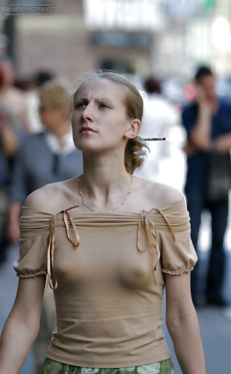 28 Best Braless In Public Images On Pinterest  Beautiful -1372