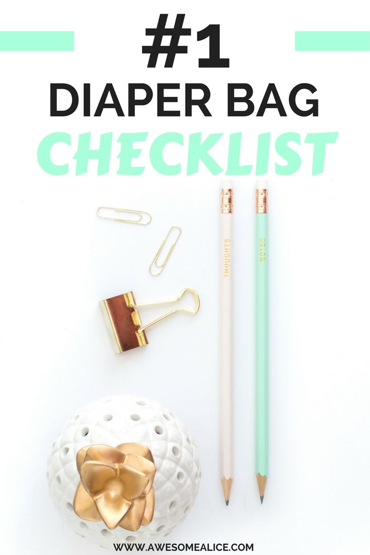 Somehow I seem to believe that the diaper bag restocks it selfs. It doesn't. Do you want to be prepared for accidents everytime you leave the house? Click here and grab your free diaper bag checklist and learn what you should pack in the diaper bag.