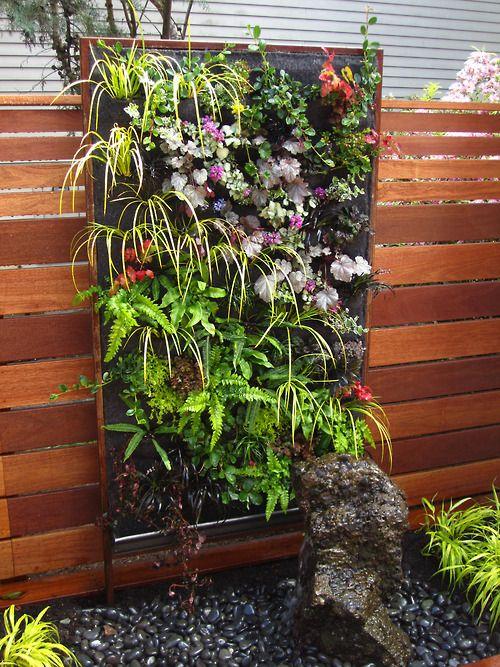 Vertical gardens how does your garden grow class home pinterest gardens posts and - Garden tower vertical container garden ...