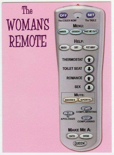 Woman's Remote: The Women, Funny Humor, Hard Time, Parties Drinks, Funny Women, Funny Stuff, Design Bags, Gag Gifts, Woman Remote