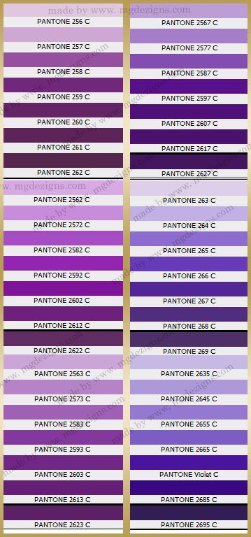 Diffe Shades Of Purple Chart S2ki Honda S2000 Forums