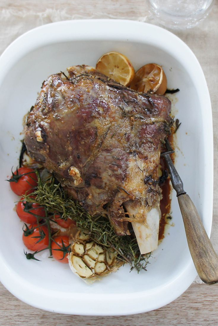 """Slow Roast Greek Lamb - """"Cooked exactly as per recipe and turned out delicious, falling apart & juicy with a nice gravy."""" – Shazzah"""