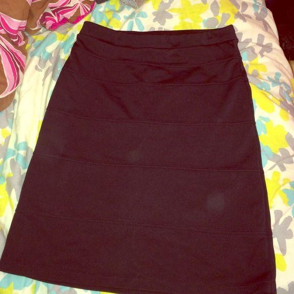 Tight black skirt Tight black skirt Skirts