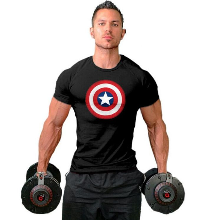 Mens Shirts Muscle Golds gyms Fitness and Bodybuilding Workout Clothes Man Cotton gymshark Man T Shirt Men gasp plus size top