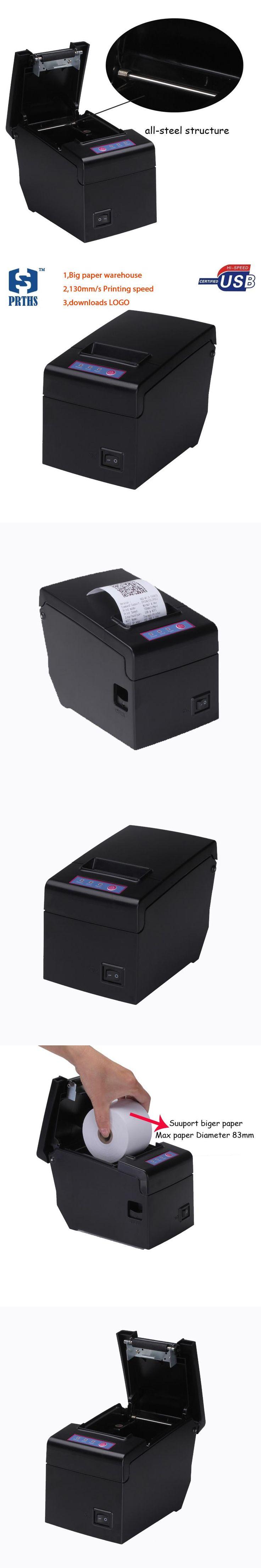 High speed 58mm USB thermal printer support 83mm big diameter paper roll impresora termica receipt printer machine HS-E58U