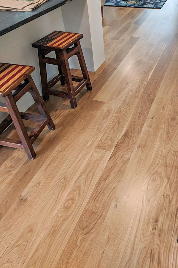 Wide Plank White Oak Flooring Vermont