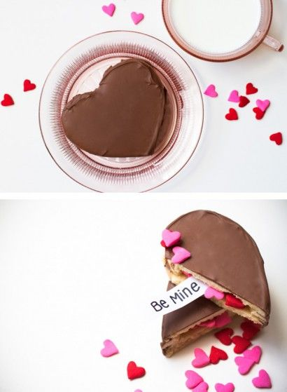 Valentine Surprise Cookies | Tasty Kitchen: A Happy Recipe Community!...Super cute idea for valentines day!
