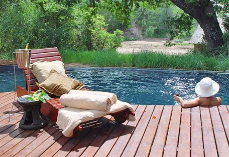 The ideal place for a romantic weekend away, surprise proposal or honeymoon - http://www.weddingflair.co.za/item/rhino-post-safari-lodge/