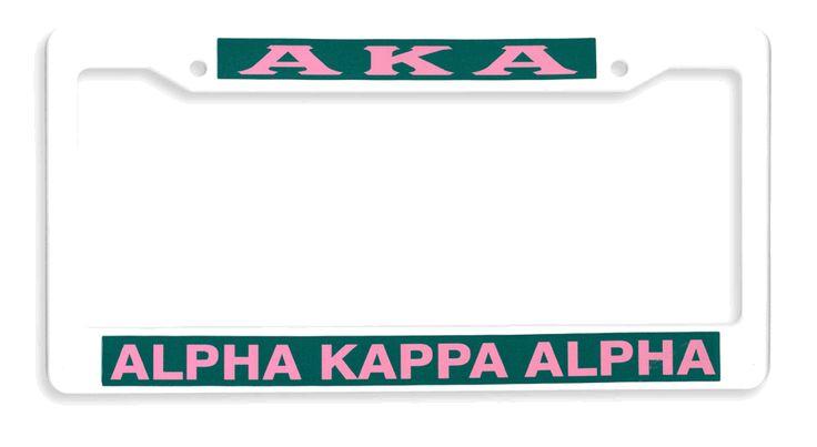 Closeout AKA License Plate Frames
