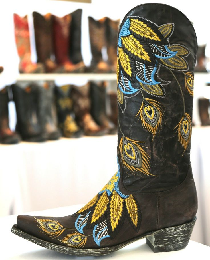Old Gringo Francis Chocolate Boot L1374-7