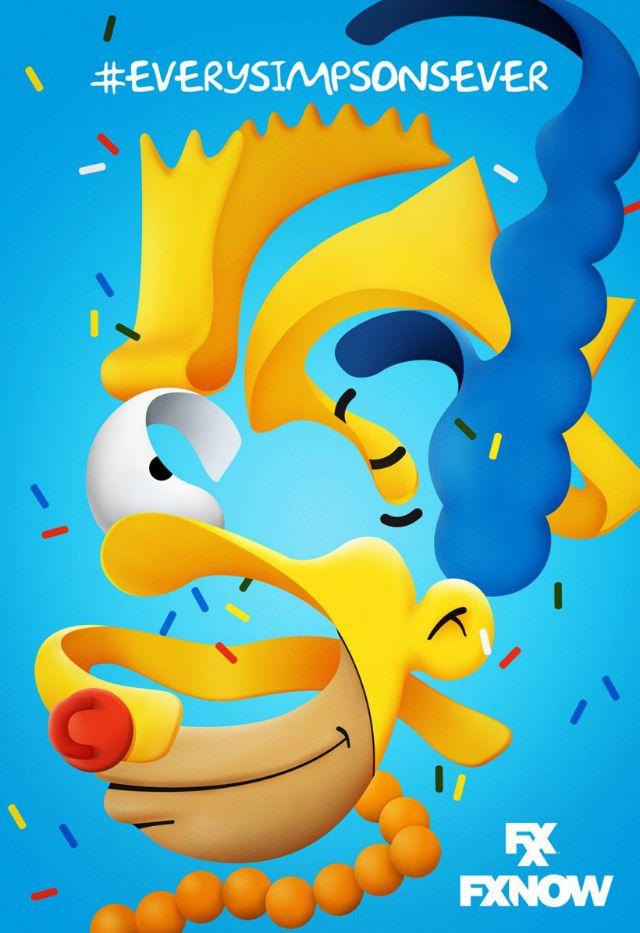 Los Simpson hechos arte (Yosfot blog)