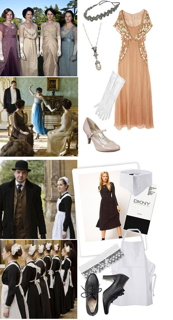 Downton Abbey for Halloween! #costumeideas