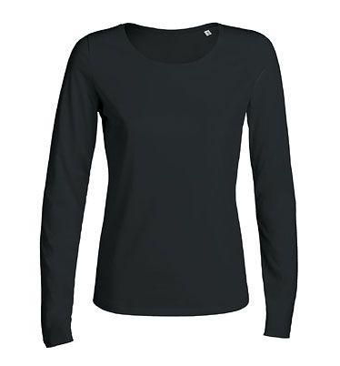 Jokes - Langarm T-Shirt mit U-Ausschnitt - schwarz