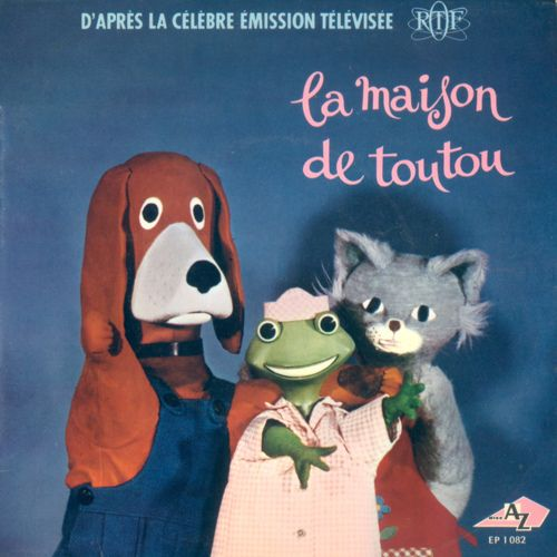 La maison de Toutou. Monsieur Toutou, Mamelle Zouzou et Mamzelle Kiki. Trop mignon
