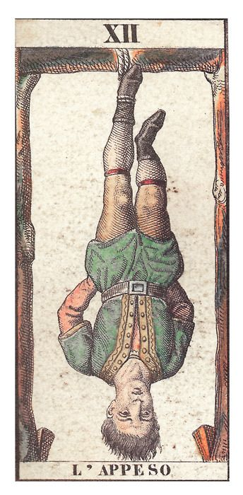 85 Best Images About The Hanged Man / The Traitor (Tarot