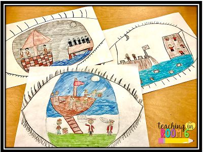 Teaching about the Boston Tea Party through the eyes of the British citizens instead of the Americans (writing and art...kids loved it!)