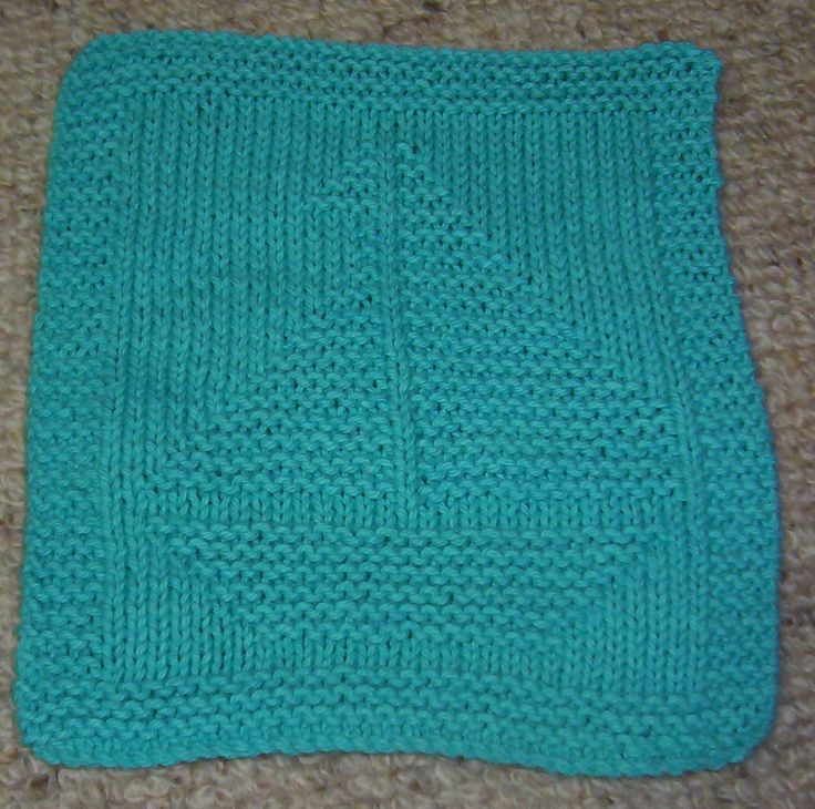 Knitted Dishcloth Pattern With Star : 1000+ images about Dishcloths on Pinterest Dishcloth, Knit Dishcloth Patter...