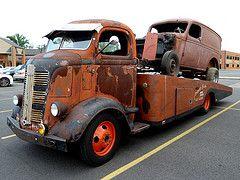 "Chuck's Truck - AKA ""Love The Truck"" - 1937 GMC Cab Over Engine (COE) Hauler Truck"
