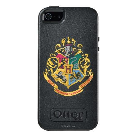 Harry Potter | Hogwarts Crest - Full Color OtterBox iPhone 5/5s/SE Case - click to get yours right now!