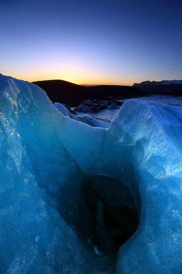 shades of blue that thrill the soul - Svinafellsjokull Crevasse - Iceland
