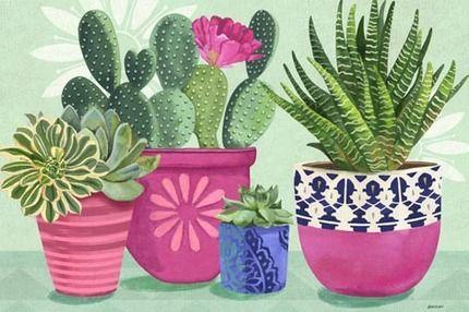 Art cactus Medium