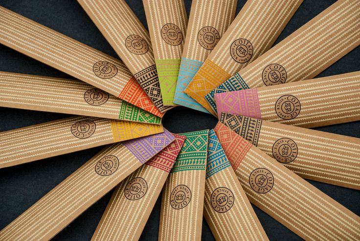 Impprintz Graphic Design Studio has recently completed the design for Cottage Incense: Heritage Range with bright colors and pa...