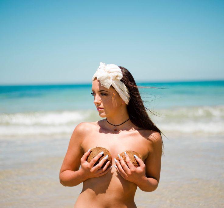 Tropicana, Elise Drayton Photography 🍍 #fashion #style #art #tropical #model #beach #headscarf #photoshoot #girls #fruit #pineapple #mango #morocco #tan #hot #sexy #saboskirt #castaway #makeup #photography #photographer #blue #nature #australia #summer #fruitplatter #teacups #passionfruit #coconut
