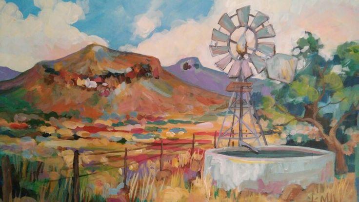"""Karoo Landscape """"Sirkusberg"""""""