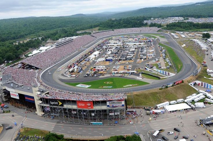 New Hampshire Motor Speedway, Loudon NH - Seating Chart View | Race Tracks @ Where's My Seat ...