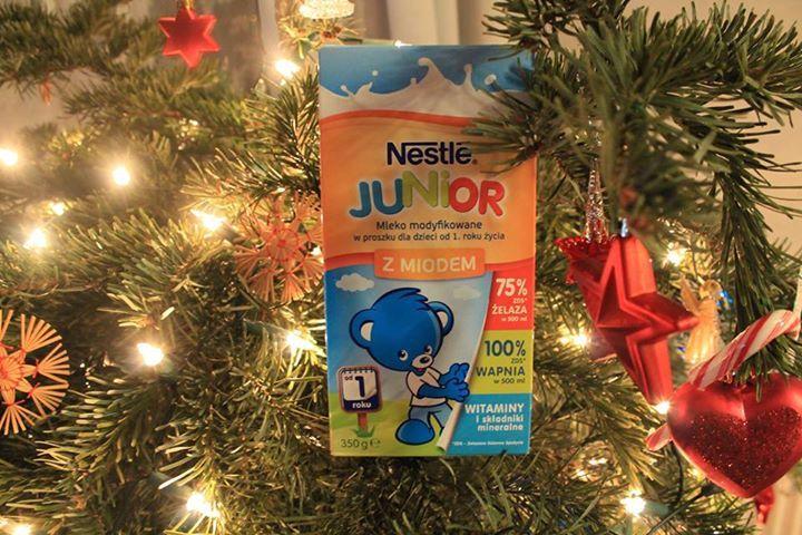 Mleko #Nestle zostaje z nami :) a tu świąteczne wspomnienie kampanii #Streetcom :) #Nestlejunior #pysznesmaki #miód #wanilia