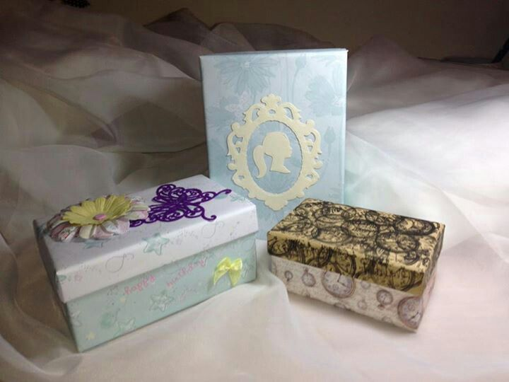 Gift boxes...