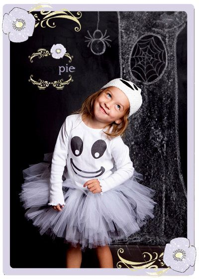 Toddler Ghost Halloween Costume Ghost Tutu Halloween Costume Toddler Ghost Costume 2T 3T 4T by PansyPieBoutique on Etsy https://www.etsy.com/listing/162306501/toddler-ghost-halloween-costume-ghost