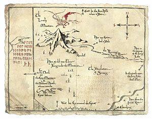 #ThinkGeek                #ThinkGeek                #Hobbit: #Thorin's #Parchment #Print                The Hobbit: Thorin's Map Parchment Art Print                                  http://www.seapai.com/product.aspx?PID=1807132