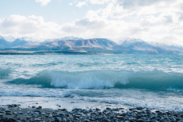 Lake Pukaki, South Island, New Zealand // shot on Fujifilm XT1 by Julia Atkinson for Studio Home