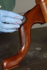 Restoring furniture without refinishing it.