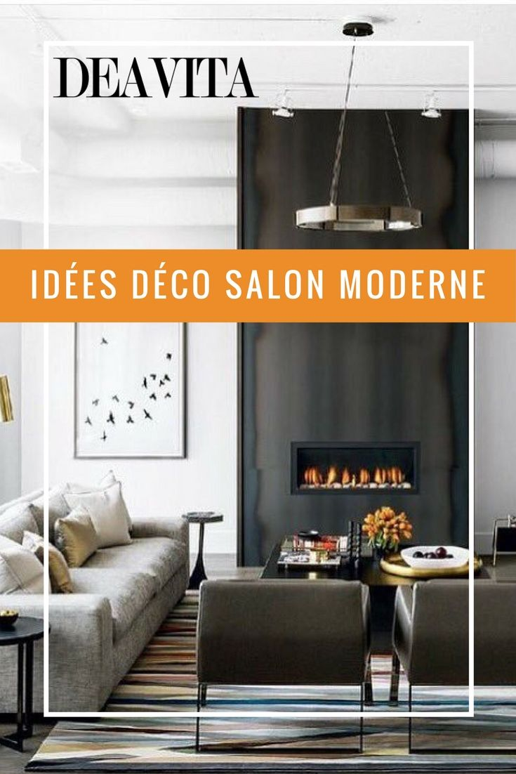 1054 best Salon moderne images on Pinterest | Living room modern ...