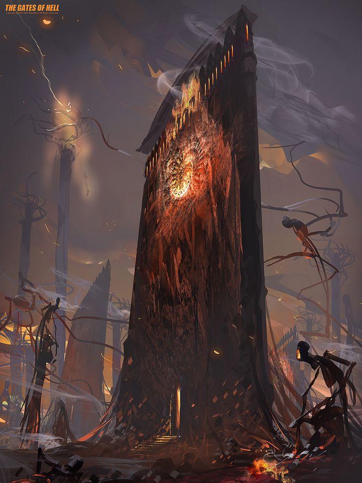 ArtStation - Hell, Bigball Gao