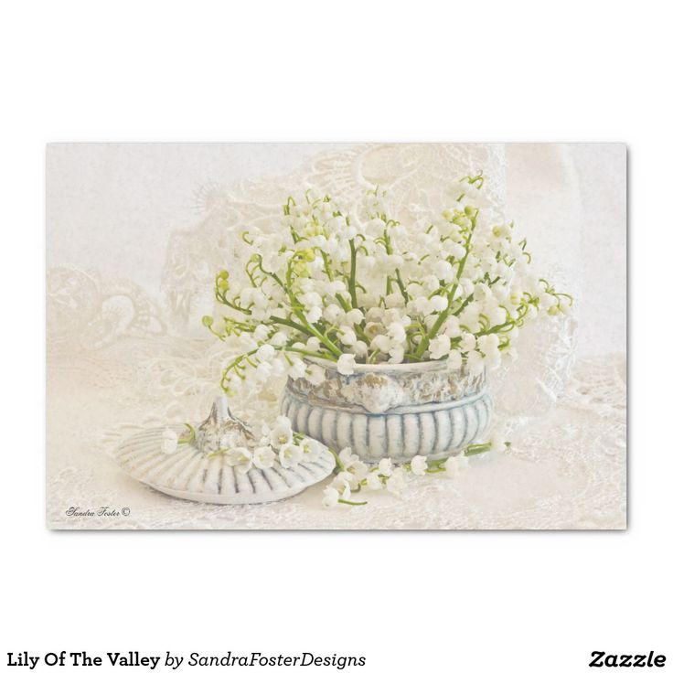 """Lily Of The Valley 10"""" X 15"""" Tissue Paper"""