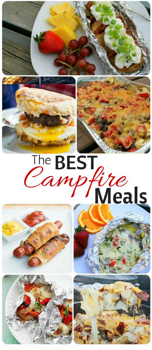 The Best Camping MealsEVER MealsVegetarian RecipesEasy