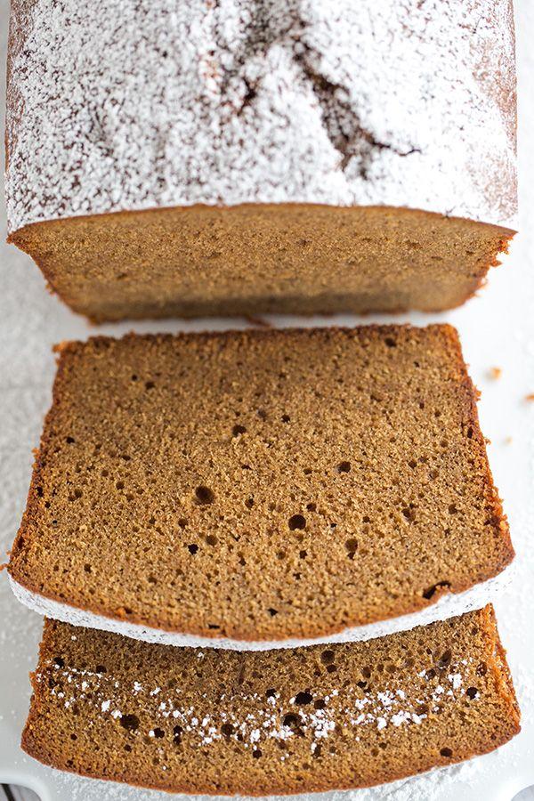 Gingerbread Pound Cake via @browneyedbaker