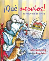 The Spanish-language edition of a best-selling back-to-school picturebook for…