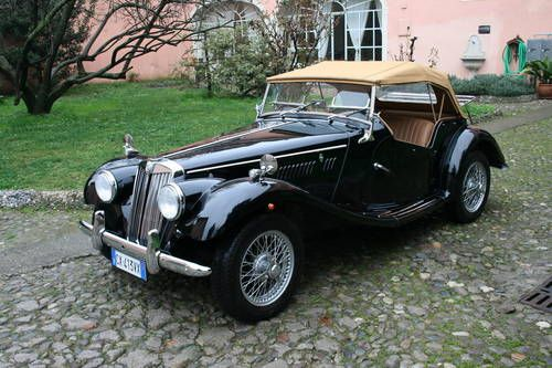 TOTALLY RESTORED MG TF For Sale (1954) on Car And Classic UK [C217415]