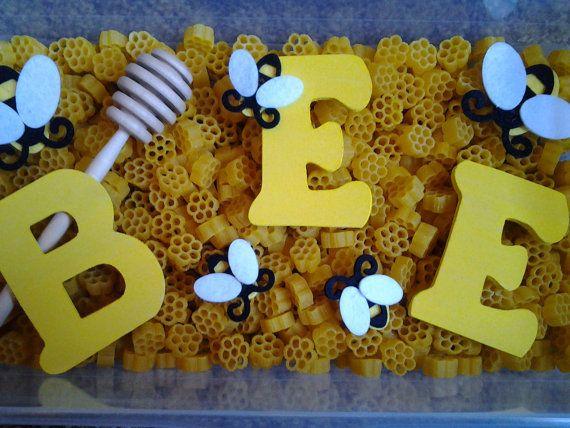 BEE Sensory Bin/ Pretend Play by LillianWes on Etsy