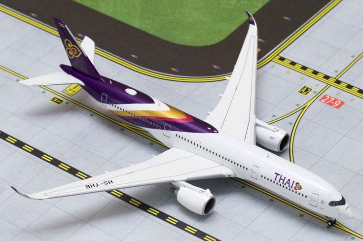 1/400 GeminiJets Thai Airways International Airbus A350-900 Diecast Model